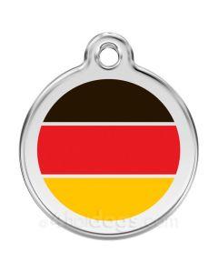 Hundetegn Tysk flag medium
