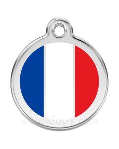 Hundetegn Fransk flag Large