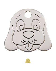 Hundetegn Hundehoved medium