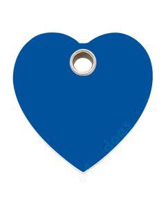 Hjerte large-Blå