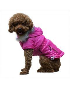 Klassisk Fashion Vinterjakke - Pink