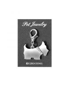 Pet Jewelry Charm Terrier