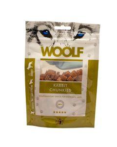 Hundegodbid Woolf kanin chunkies 100g