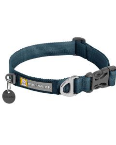 Ruffwear Front Range halsbånd-Blå-S: 28-36
