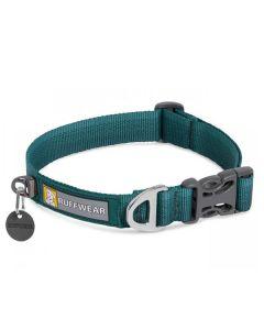 Ruffwear Front Range halsbånd-Grøn-S: 28-36