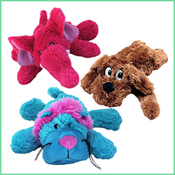 Plys legetøj & bamser til hunde