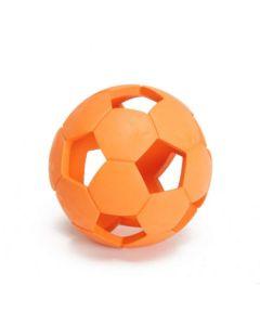 Gummi bold med huller til hund-Orange-Ø:11 cm