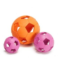Gummi bold med huller til hund