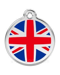 Hundetegn UK flag small
