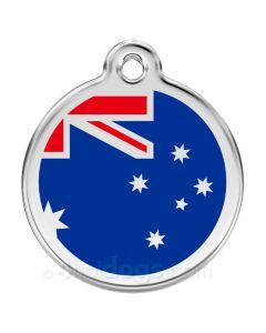 Kattetegn med Australske flag