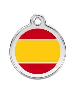 Hundetegn spansk flag small