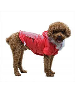 Klassisk Fashion Vinterjakke - Rød