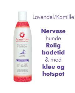 Hundeshampoo 2i1 Lavendel/Kamille -Miljøvenl.