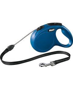 Blå flot Flexline med snor