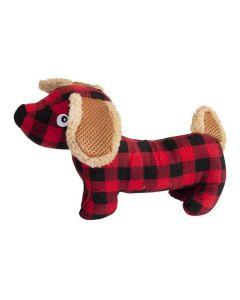 Hundelegetøj ternet hund