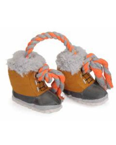 Hundelegetøj, sko med reb