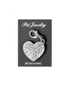 Pet Jewelry Charm Heart