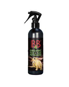 B&B Petguard økologisk loppemiddel, 500 ml spray